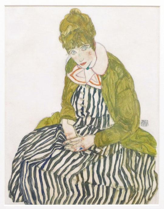 Edith Schiele, (1915)