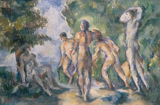 Cézanne : les baigneurs