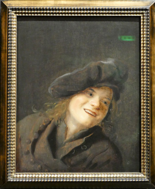 Isaack Luttichuys : garçon riant, 1648