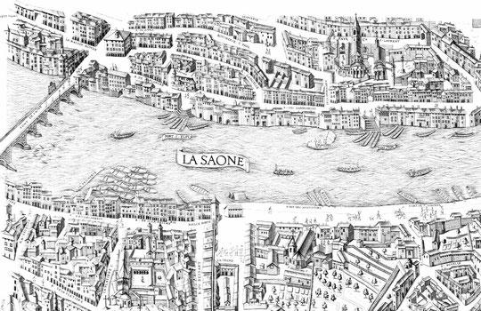 Lyon au XVIe siècle (BM)