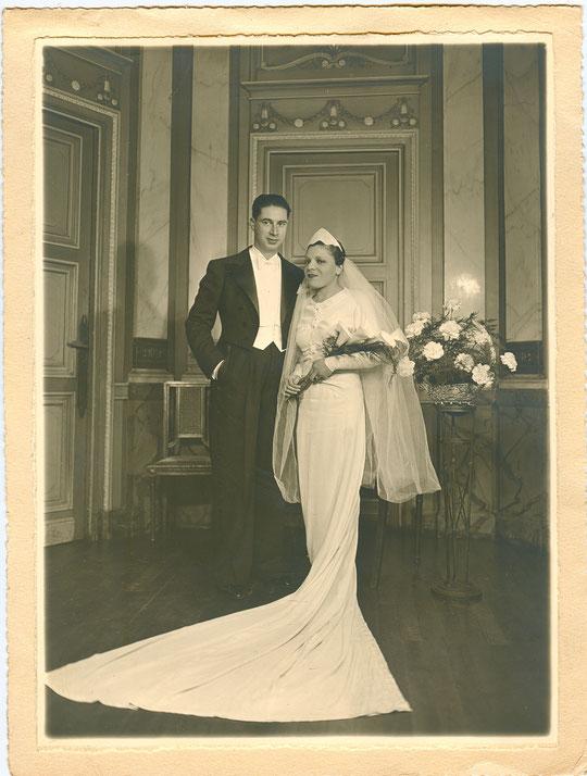 """""""La"""" photo du mariage de Roland et de Rose"""
