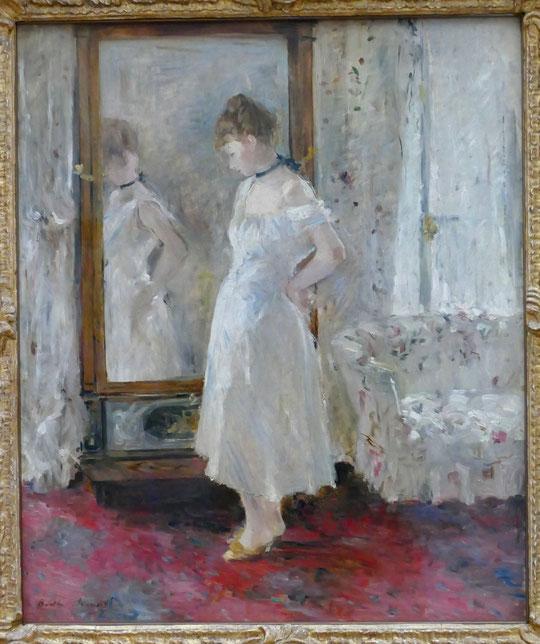 Berthe Morisot : la psyché, 1876
