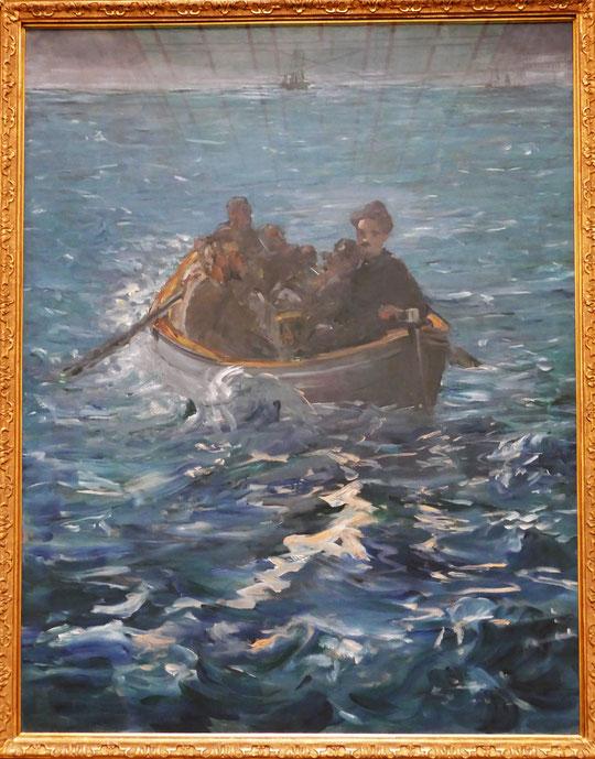 E. Manet : l'évasion de Rochefort, 1880-1881