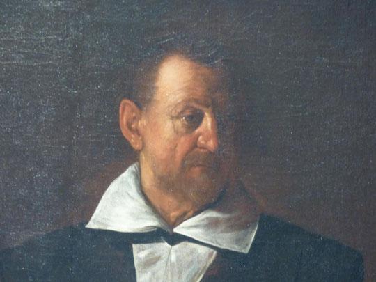 Portrait d'un chevalier de Malte, Michelangelo Merisi, dit Le Caravage, 1608; Palais Pitti, Florence