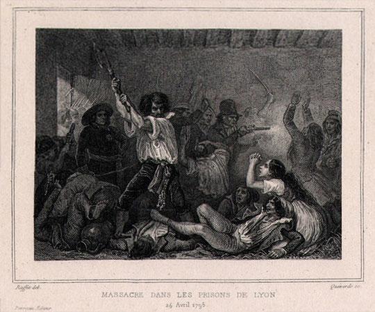 Massacre dans les prisons de Lyon, 24 avril 1795