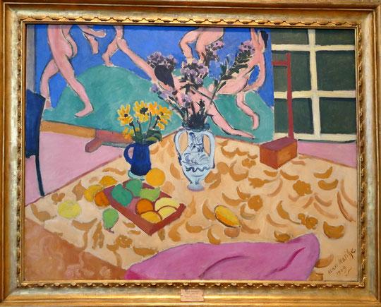 "Henri Matisse (1869-1954) : nature morte avec ""danse"""
