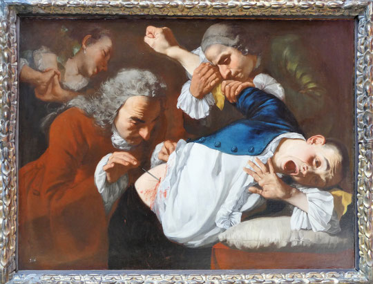 Gaspare Traversi : l'opération 1753-54
