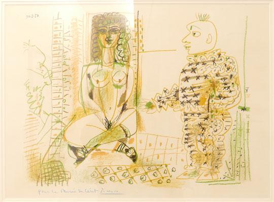 Pablo Picasso : l'odalisque et le clown