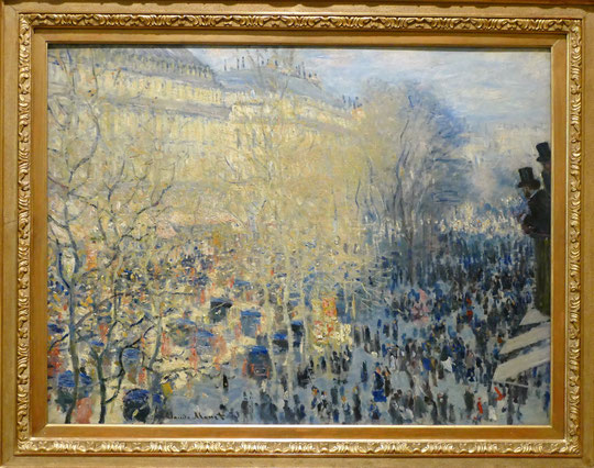 Claude Monet (1840-1926) : boulevard des capucines