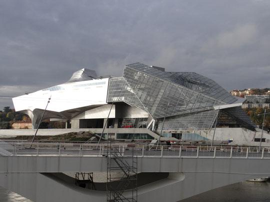 Le musée en voie d'achèvement (novembre 2014)