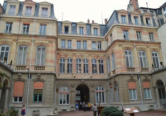 L'Hôtel Vitta devenu l'Hôtel du Gouverneur militaire de Lyon