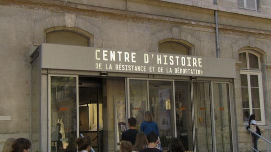 Le CHRD, installé dans ce qui furent les locaux des services de répression...