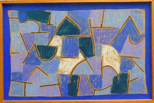 Paul Klee : nuit bleue, 1937
