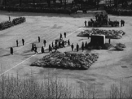 Les obsèques nationales du Président Edouard Herriot