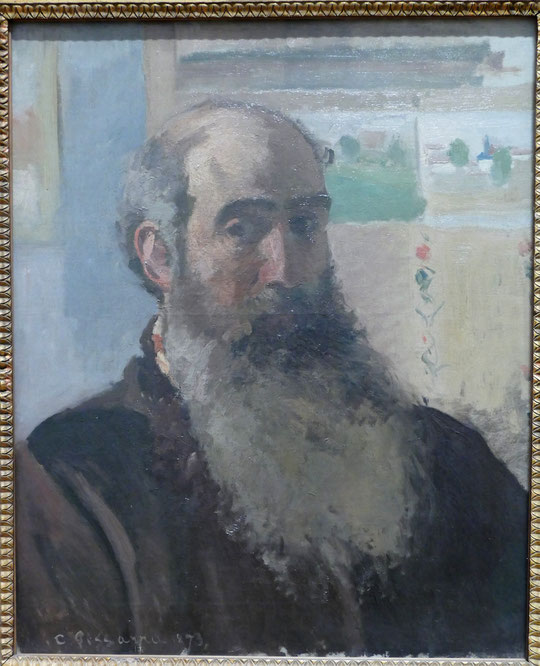Camille Pissarro : autoportrait, 1873