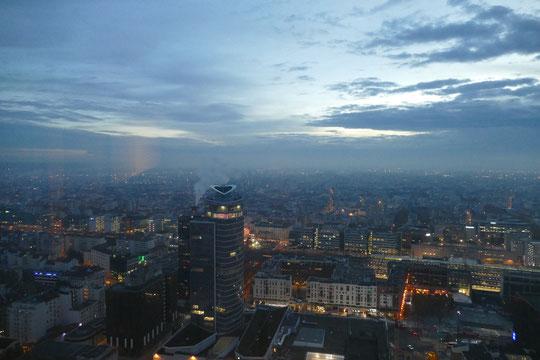Lyon s'éveille vu depuis le 37e étage de la tour