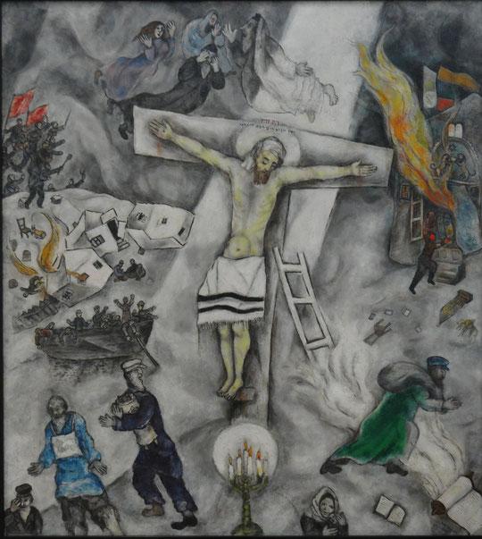 Marc Chagall : crucifixion blanche