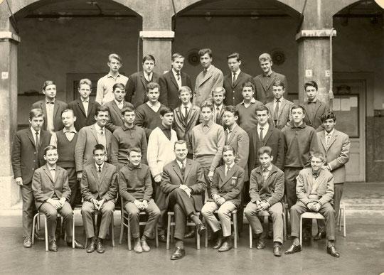 1963-1964, classe de 2e