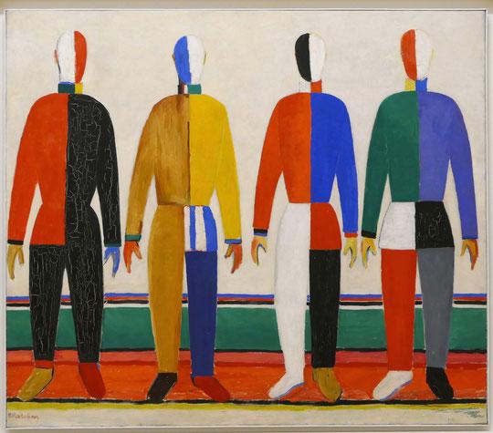 Kazimir Malevich (1879-1935) : sportifs
