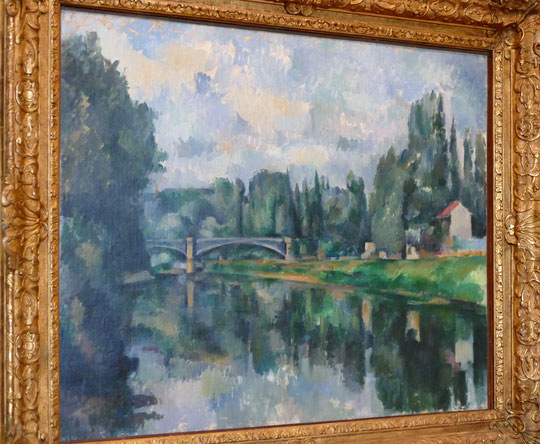 Paul Cézanne 1839-1906 : le pont sur la Marne à Créteil