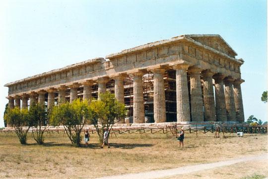 Des temples à Paestum