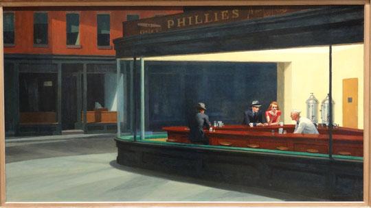 Edward Hopper : les oiseaux de nuit
