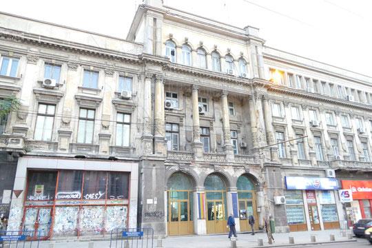 au cœur de Bucarest beaucoup de bâtiments sont en triste état