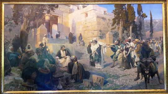 Vasily Polenov (1844-1927) : Jésus et la pécheresse