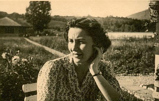 Jacqueline en 1946