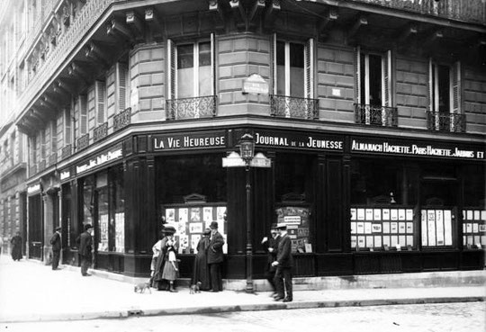Hachette en 1909 boulevard Saint Germain