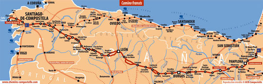 Le camino Frances, Espagne