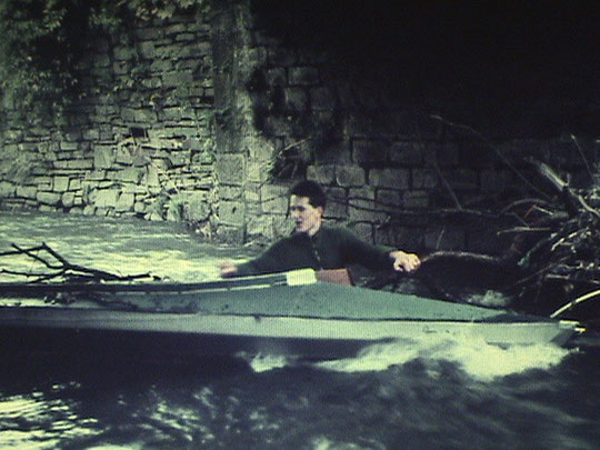 Badevergnügen im Deilbach, 1960