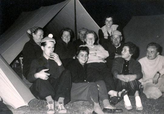 FWF-Zeltplatz Mündelheim am Rhein 1959