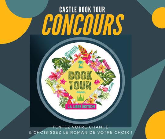 castle book tour, book tour, concours, sacha stellie; cédric charbonnel; lily B. Francis