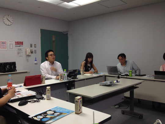 Jimdoの日本における代理店 KDDIウェブコミュニケーションズから山田直哉さんにお越し頂きました。