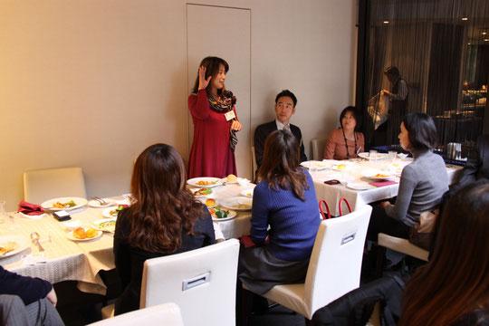 ランチ交流会 (異業種交流会) 大阪ミナミ クロスホテル大阪で開催