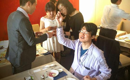 次回ミニセミナー講師の内田宙大さん