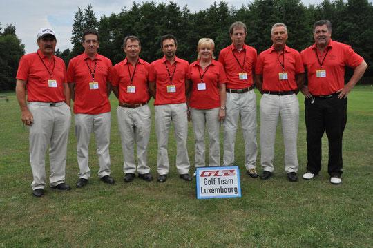 Die Luxemburger Mannschaft anlässlich der USIC Weltmeisterschaft 2011 in Podebrady