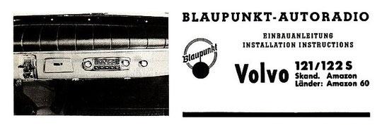 Einbauanleitung Blaupunkt Radio