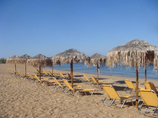 Vrahinari Beach, bei Lixourie
