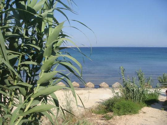 Kounopetra Beach, bei Lixourie