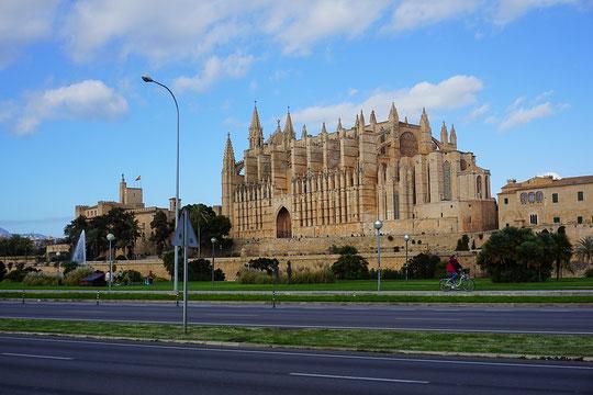 Die Kathedrale von Palma oder auch La Seu, Palma de Mallorca
