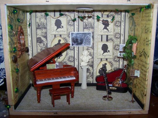 le salon de Musique pour les  3 petits enfants de Sy