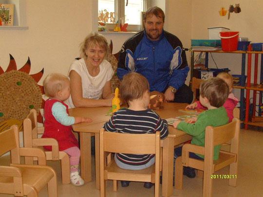 Die Sprachinseln für die Krippenkinder von Kerstin Rosin wurde vom Erlös angeschafft.