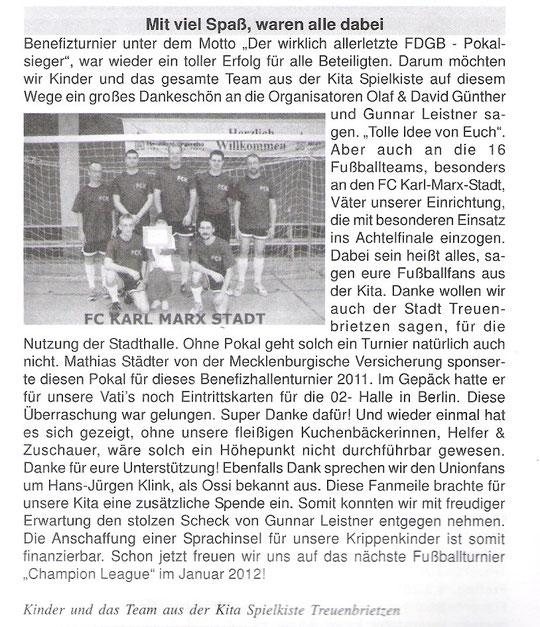 Treuenbrietzener Nachrichten Feb. 2011