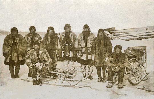Якутские рыбаки