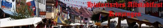 Historisches Altstadtfest zu Kenzingen 2011