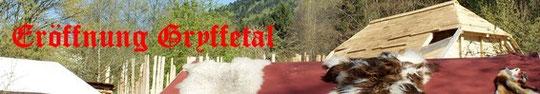 Eröffnung des Gryffetal in Steinen, leider mittlerweile schon insolvent