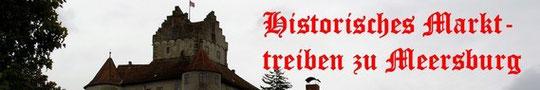 Historisches Markttreiben zu Meersburg
