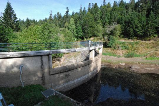 Barrage de la Tarentaine